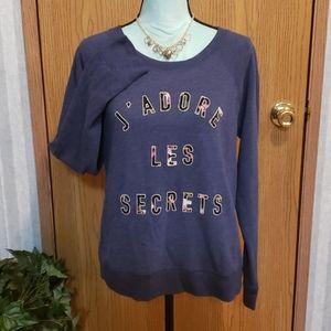 Victoria's Secret Sweatshirt Size Large
